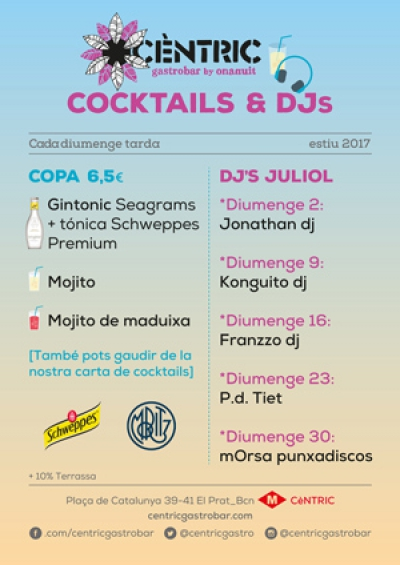 Cocktails & Djs_ Julio 2017