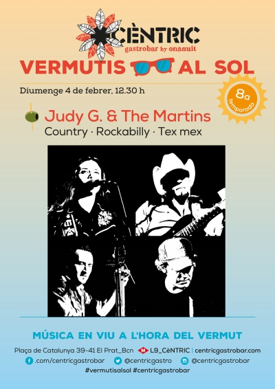Vermutis al Sol_ Judy G. & The Martins