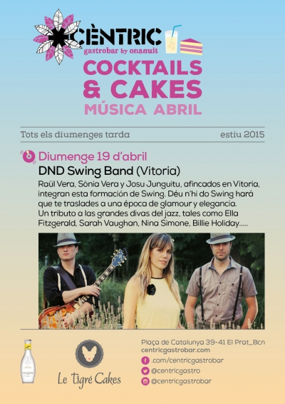DnD Swing Band en los Cocktails & Cakes!