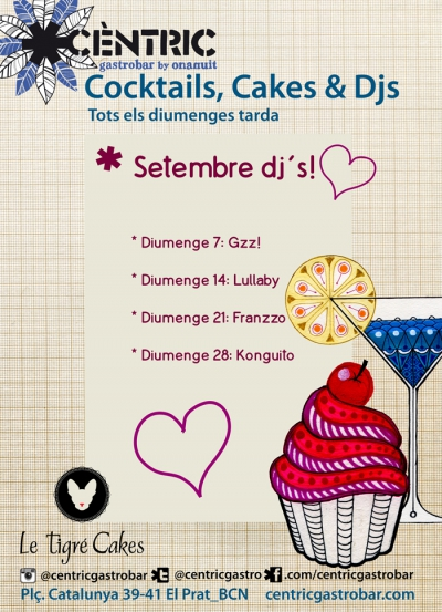 Cocktails & Cakes_ Konguito dj